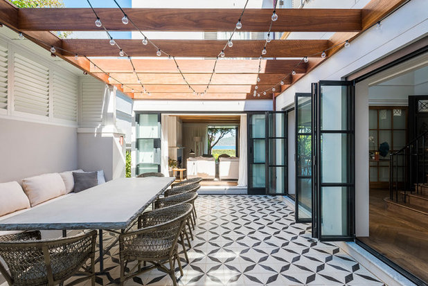 Contemporary Patio by Lovett Custom Homes