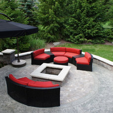 Contemporary Patio by Imagine Landscapes
