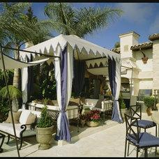 Mediterranean Patio by RRM Design Group