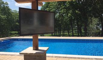Indoor and Outdoor TV Installation with Outdoor Speakers