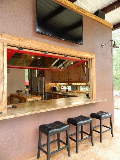 Outdoor Poolhouse Bar Houzz