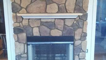 Indoor/Outdoor fireplaces