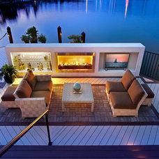 Contemporary Deck by Julians Interiors