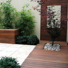 Contemporary Patio by InForm Landscape