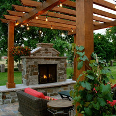 Traditional Patio by Innovative Design Co