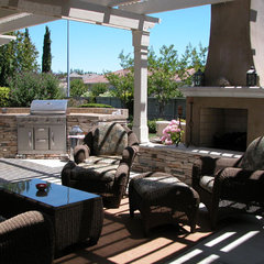 contemporary patio by Inside Out- Interior & Exterior Design