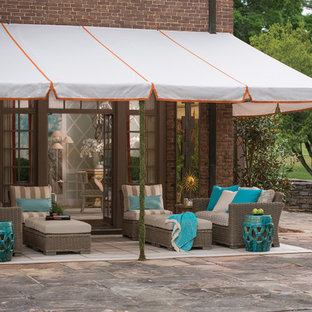 Inspiration for a timeless patio remodel in Other