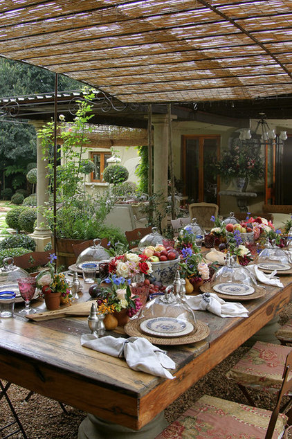 Traditional Patio by Karen Schaefer Louw