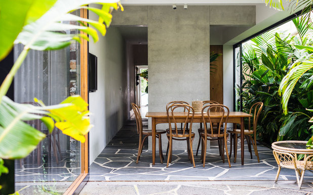 Tropical Patio by Rebecca Lu Photography