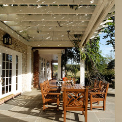 traditional patio by KohlMark Architects