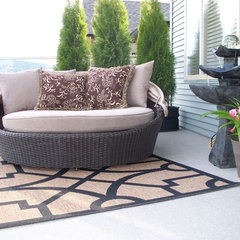 modern patio Interiors by Jane