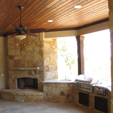 Traditional Patio by River Hills Custom Homes