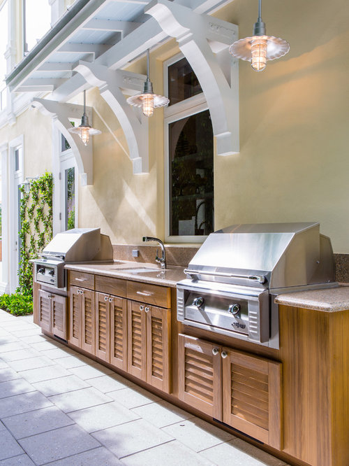 Summer kitchen houzz for Summer kitchen plans