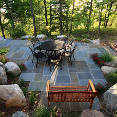 Traditional Patio by Visbeen Architects