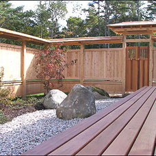 Asian Patio by Wood Haven, Inc.