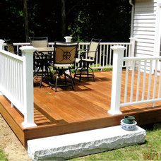 Traditional Patio by Mataverde Decking