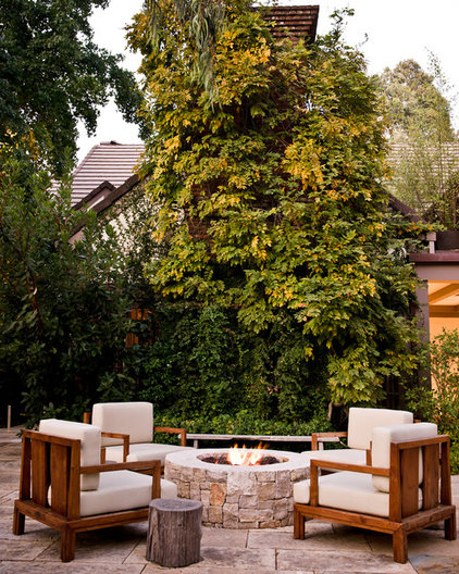 contemporary patio by MTLA- Mark Tessier Landscape Architecture