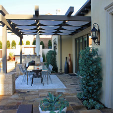 Contemporary Patio by Dreamscapes By M.G.R.