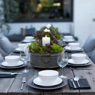 Example of a trendy patio design in Orange County