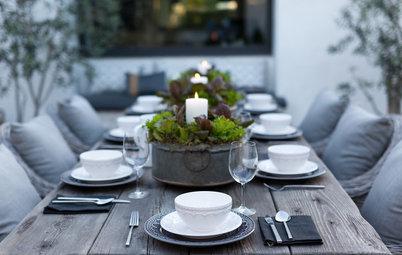 Set a Gorgeous Seasonal Party Table Outdoors