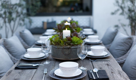 Striking Dining Table Settings to Impress Guests