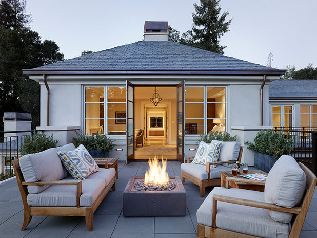 Contemporary Patio by Aleck Wilson Architects