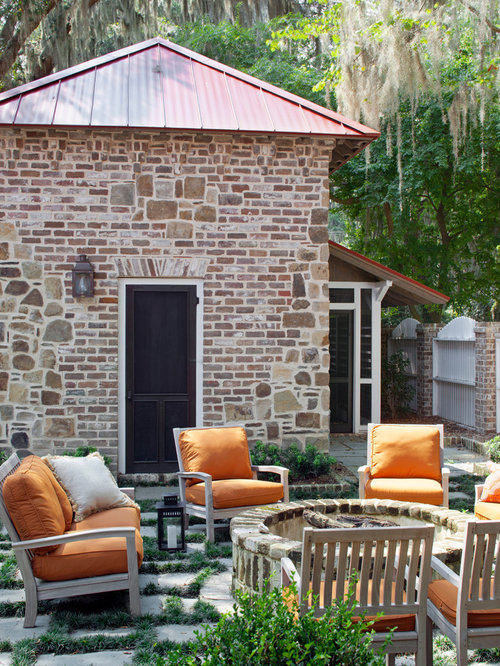 Mix brick and stone houzz for Mixing brick and stone