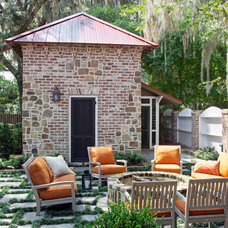Traditional Patio by Linn Gresham Haute Decor
