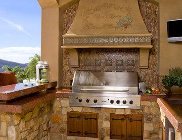 Italian Outdoor Kitchen