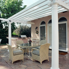 Traditional Patio by Roger Perron Design and Construction
