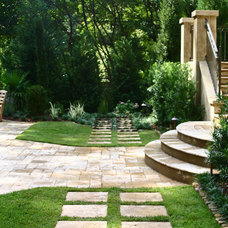 Traditional Patio by Bennett Design & Landscape