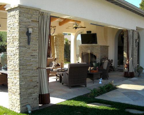 ... Patio Drapery Outdoor Patio Gazebo Home Design Ideas Pictures Remodel  ...