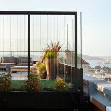 Contemporary Patio by De Meza + Architecture