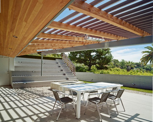 Midcentury Patio Design Ideas, Remodels & Photos | Houzz on Mid Century Modern Patio Ideas id=87807