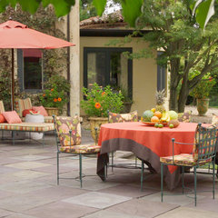 eclectic patio by Jan Jessup
