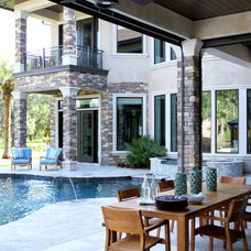 Contemporary Patio by Lendry Homes