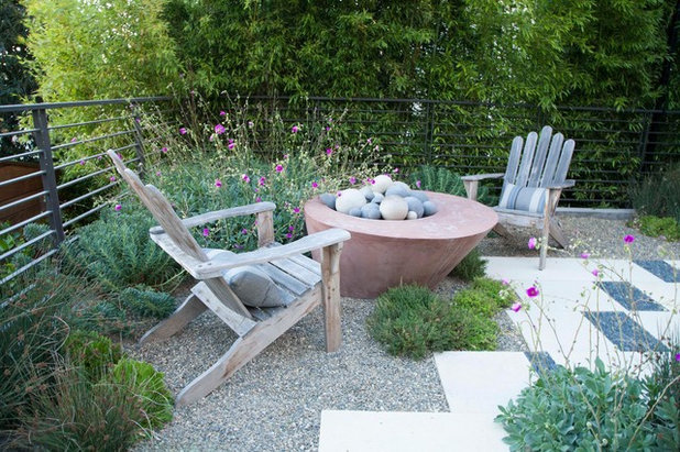 Eclectic Patio by Shades Of Green Landscape Architecture