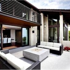 Contemporary Patio by Buchmann Design