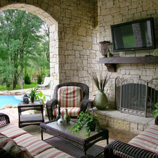 Traditional Patio by John Lively & Associates