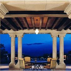 Mediterranean Patio by JMA (Jim Murphy and Associates)