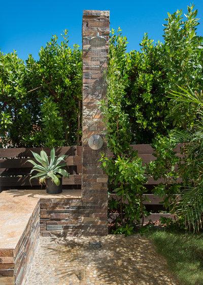 Tropical Patio by Charmaine Werth