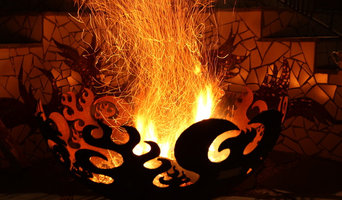 John T. Unger Sculptural Firebowls™ Featured Spaces