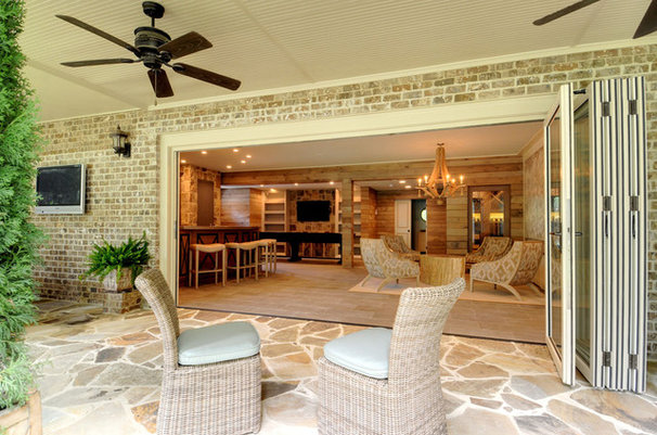 Beach Style Patio by John Willis Homes