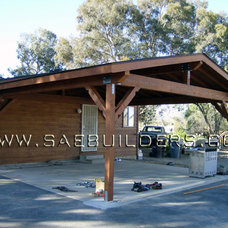 Traditional Patio by SAE Builders