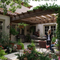 Mediterranean Patio by Seal Design Group