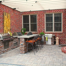 Traditional Patio by The Office of Joel Tomlin III, LLC.