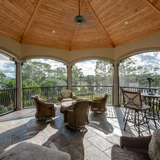 Traditional Patio by Michael Laurenzano Photography
