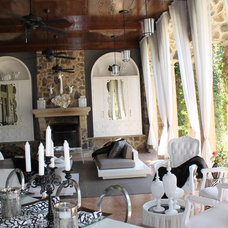 Contemporary Patio by Cindy Ray Interiors, Inc.