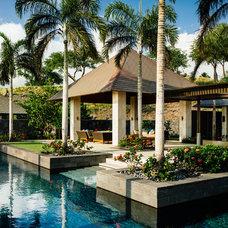 Tropical Patio by Saint Dizier Design