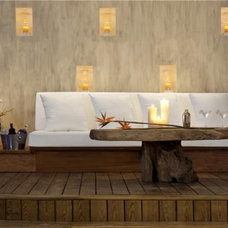 Asian Patio by Simply Exquisite Interiors